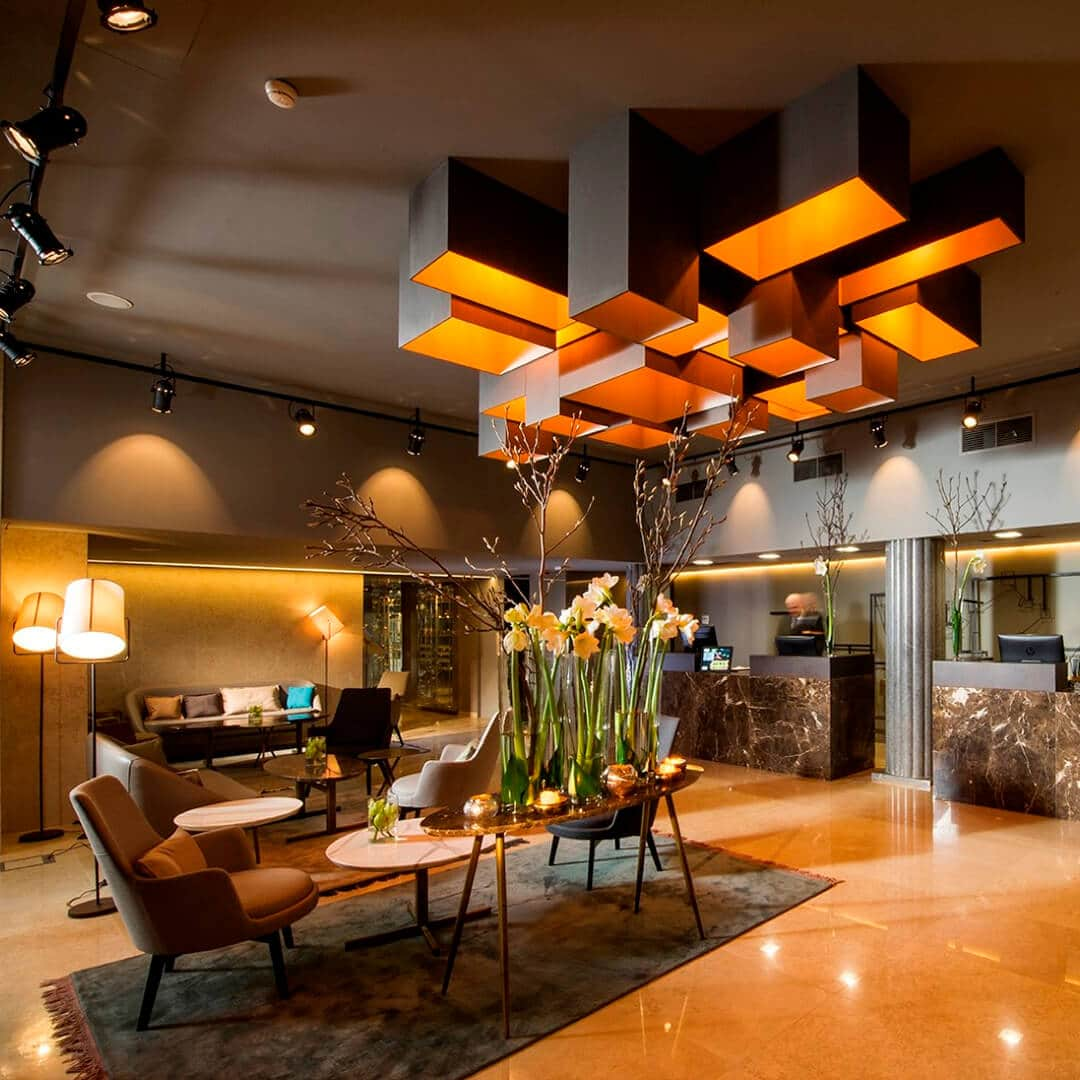 Best Western Premier Hotel Slon Lobby