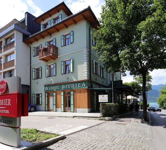 Best Western Premier Hotel Lovec Außenansicht