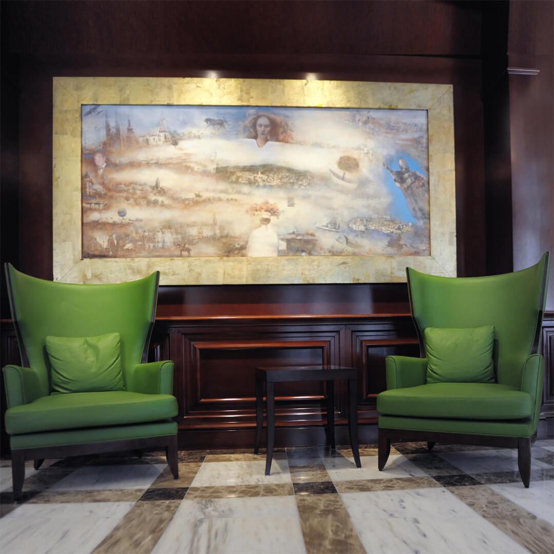 Best Western Premier Hotel Astoria Lounge