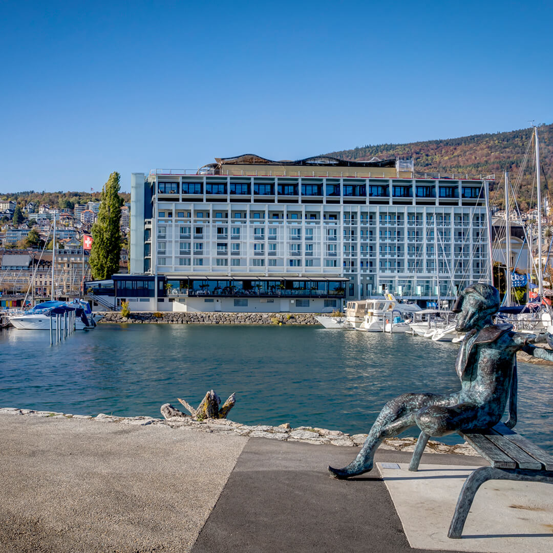 Best Western Premier Hotel Beaulac Ausblick