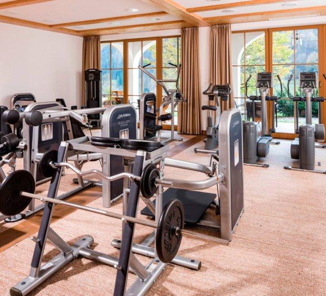 Berghotel Rehlegg Fitnessraum