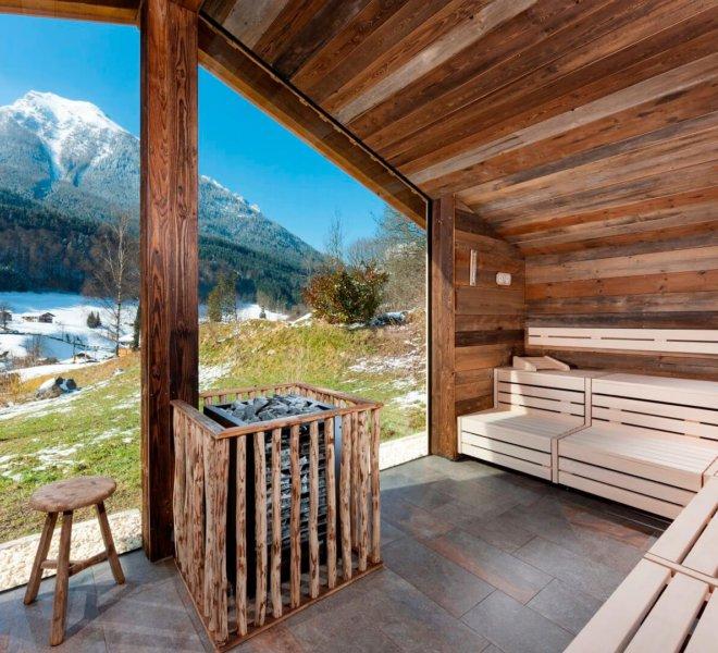 Berghotel Rehlegg Sauna