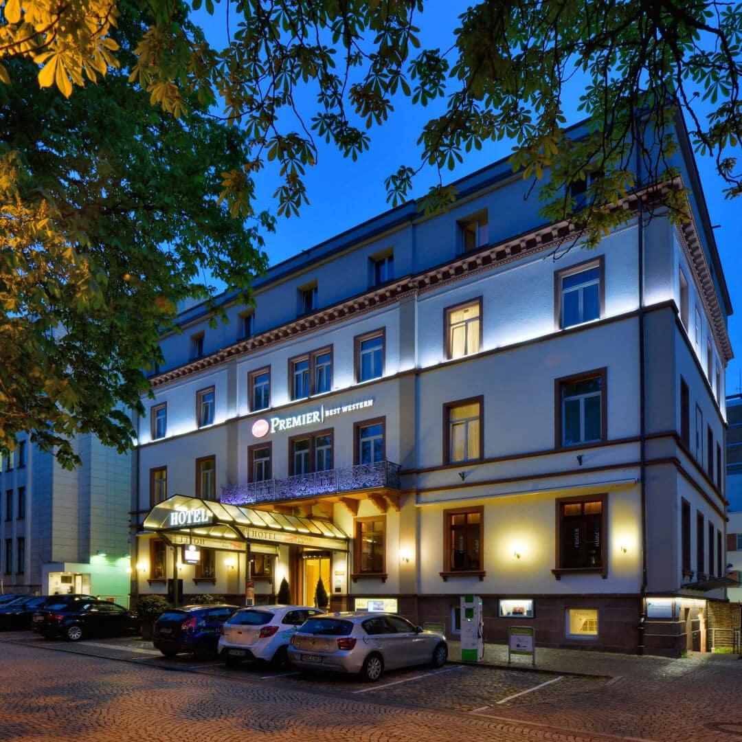 Best Western Premier Hotel Victoria Außenansicht