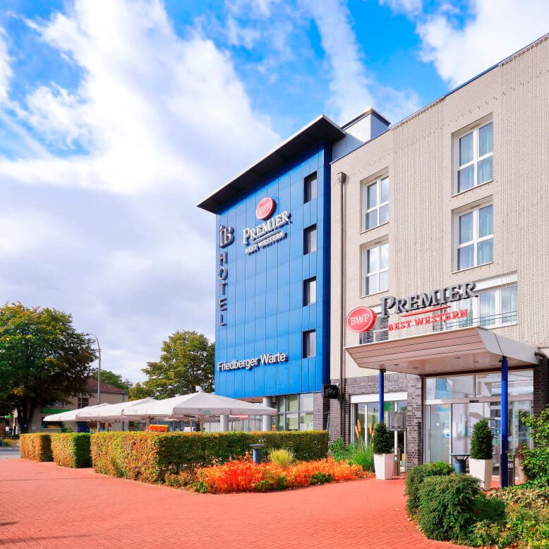 Best Western Premier Hotel Friedberger Warte Außenansicht