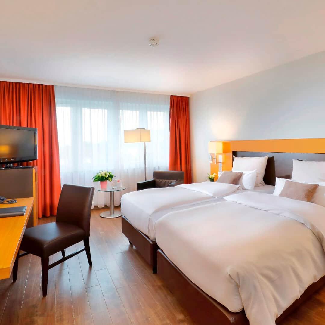 Best Western Premier Hotel Friedberger Warte Zimmer