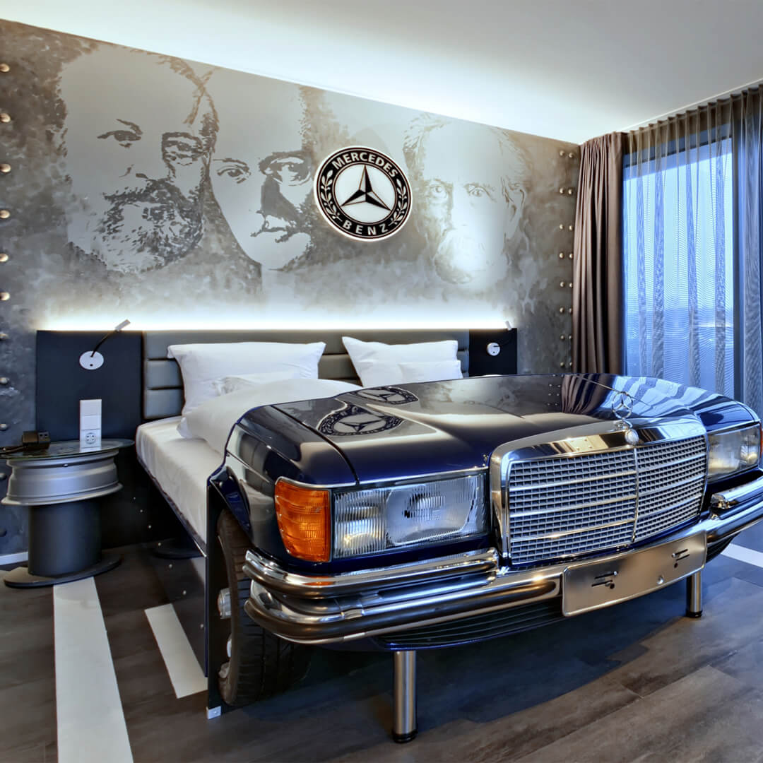 Best Western Premier Collection V8 Hotel Motorworld Themenzimmer