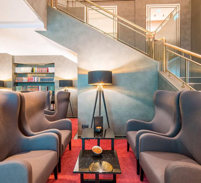 Lounge im Best Western Premier Central Hotel Leonhard