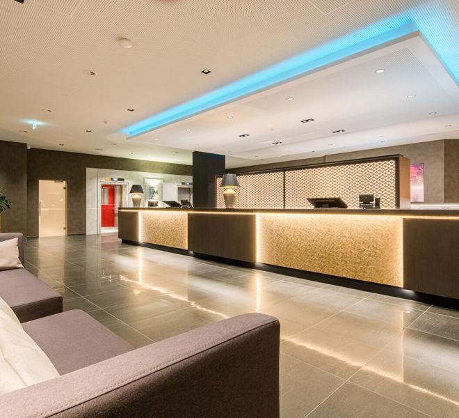 Rezeption im Best Western Premier Central Hotel Leonhard
