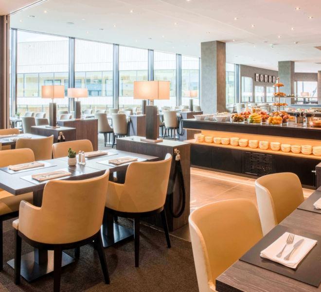 Restaurant und Frühstücksbuffet im Best Western Premier Central Hotel Leonhard