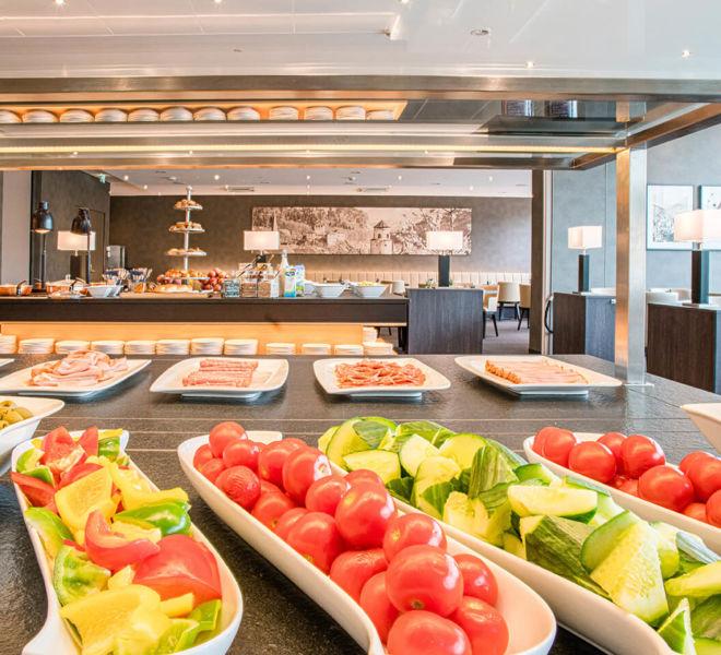 Frühstücksbuffet im Best Western Premier Central Hotel Leonhard