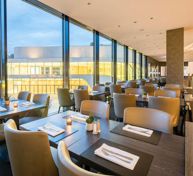Restaurant im Best Western Premier Central Hotel Leonhard
