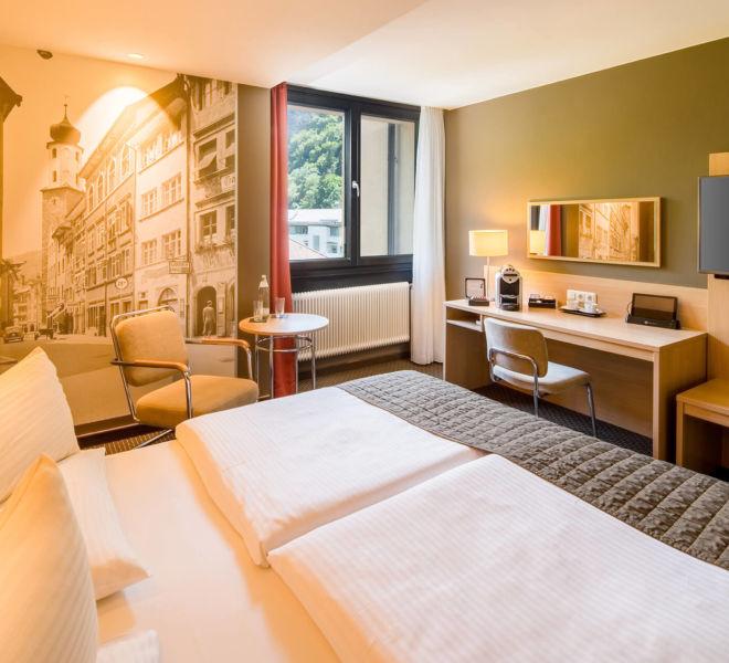 Zimmer im Best Western Premier Central Hotel Leonhard