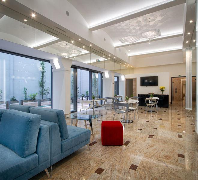 Lobby im Best Western Premier Hotel Essence