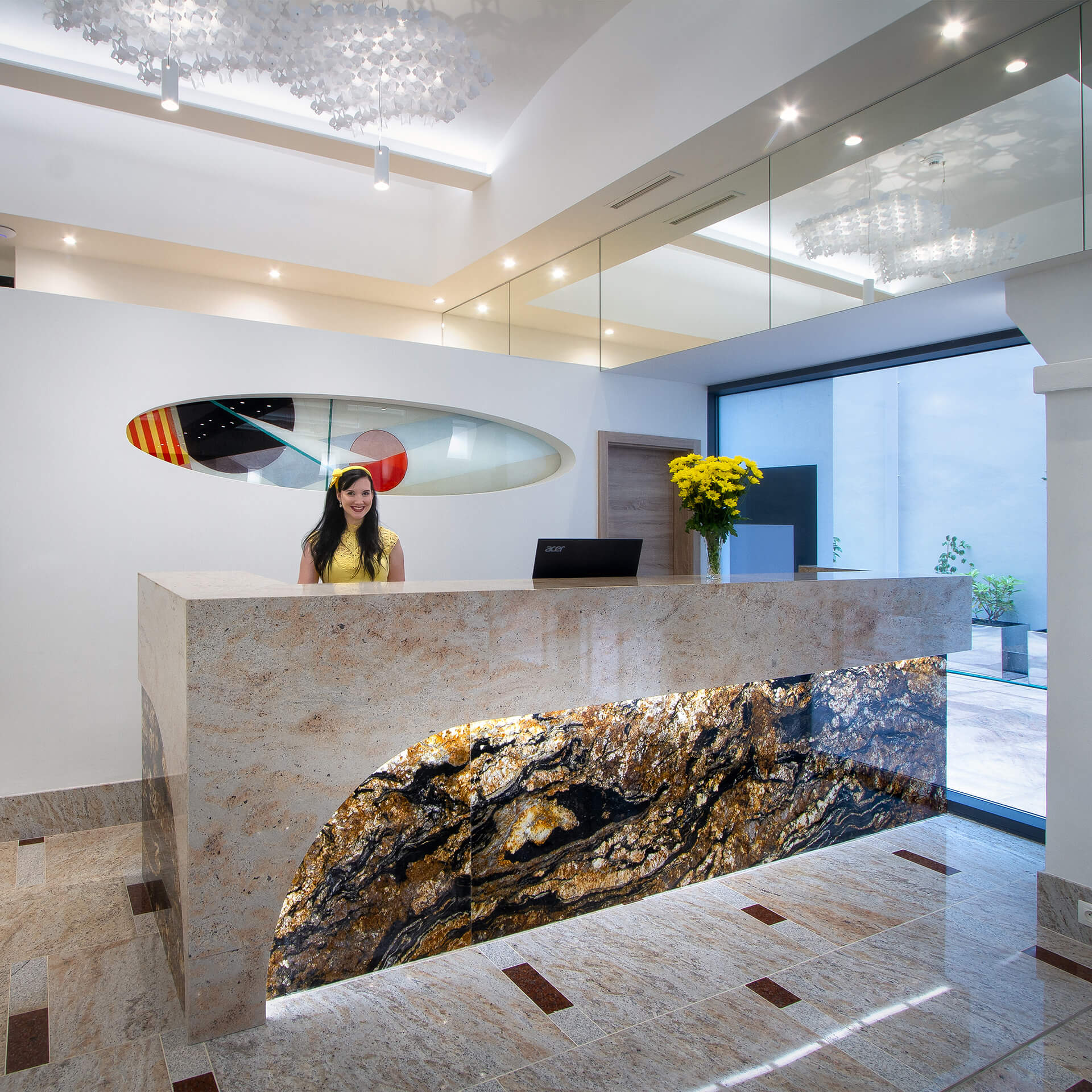 Lobby im Best Western Premier Essence Hotel