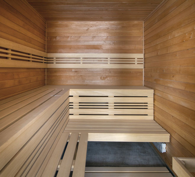 Sauna im Best Western Premier Hotel Essence