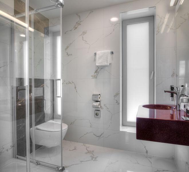 Badezimmer im Best Western Premier Hotel Essence