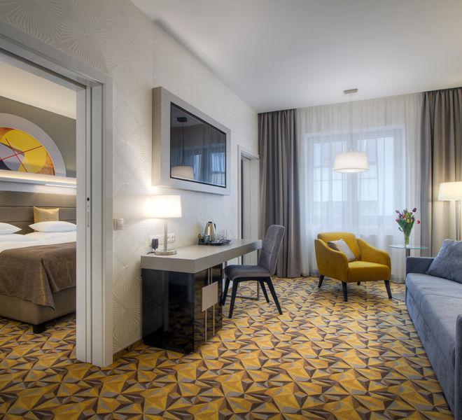 Suite im Best Western Premier Hotel Essence
