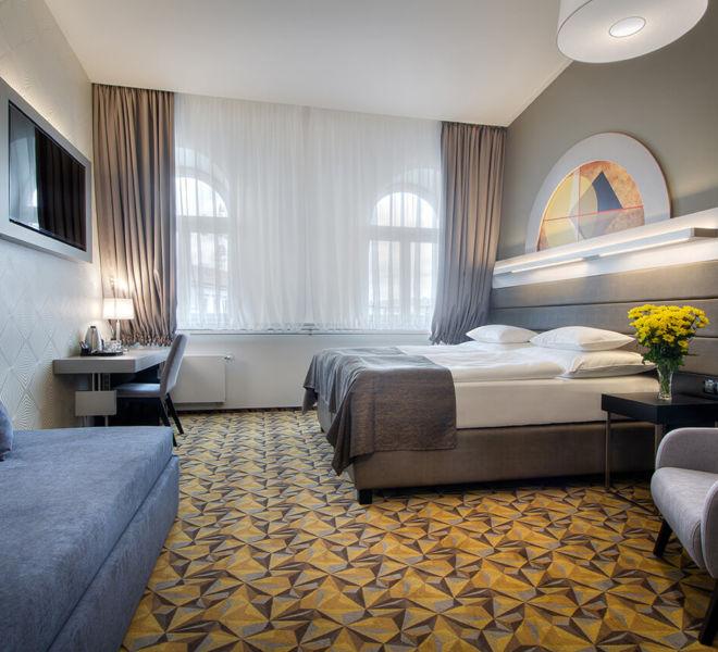 Junior Suite im Best Western Premier Hotel Essence