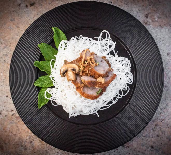 Asiatische Speisen im Best Western Premier Hotel Essence