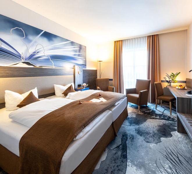 Zimmer im Best Western Premier Hotel Villa Stokkum
