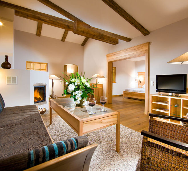 Suite im Berghotel Rehlegg