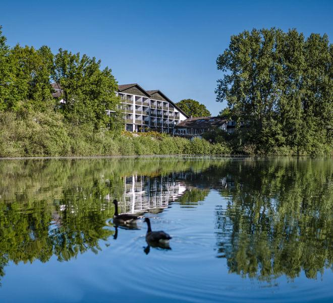 See und Außenansicht Best Western Premier Seehotel Krautkrämer