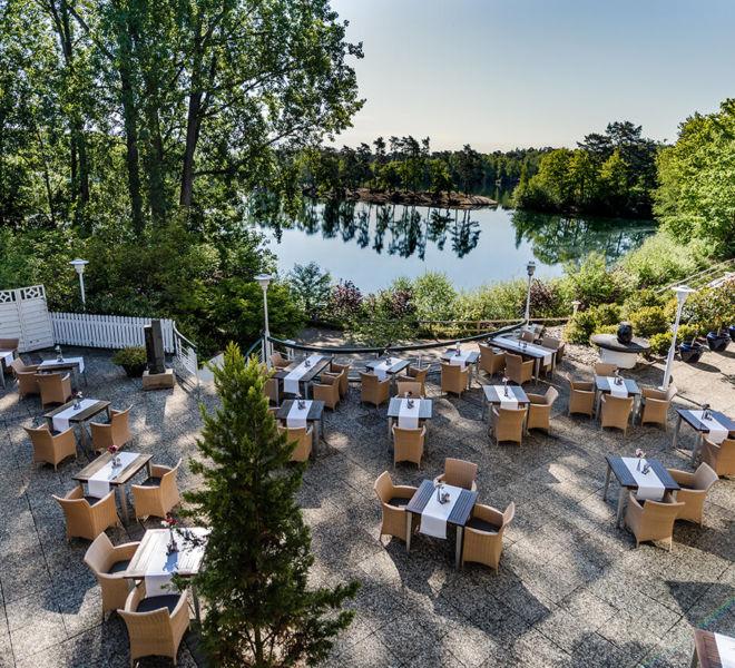 Restaurant Terrasse im Best Western Premier Seehotel Krautkrämer