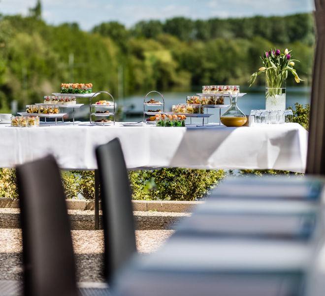 Buffet am See im Best Western Premier Seehotel Krautkrämer
