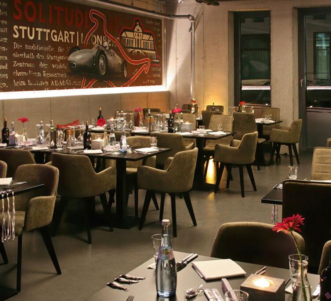 Restaurant/Café im V8 Hotel Motorworld Region Stuttgart