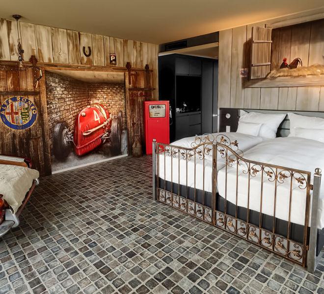 Zimmer im V8 Hotel Motorworld Region Stuttgart