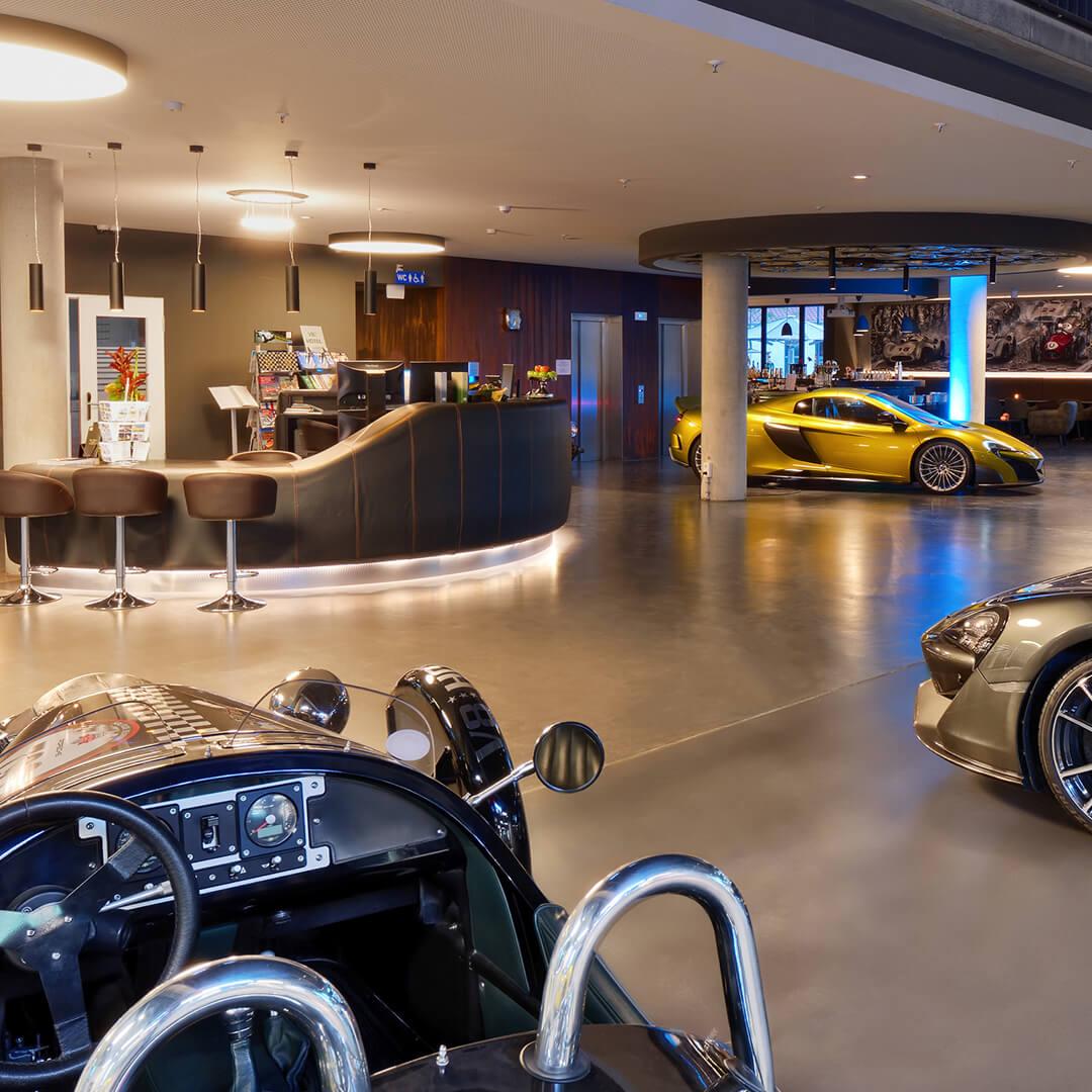 Best Western Premier Collection V8 Hotel Motorworld Zimmer